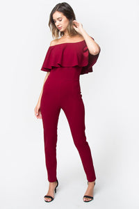 Itzel Off The Shoulder Jumpsuit