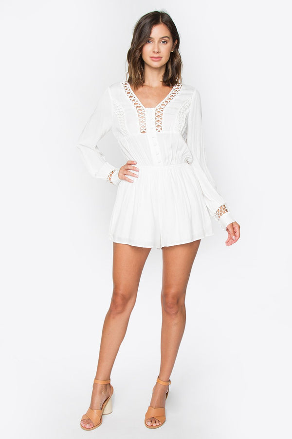 Rosalie Long Sleeve Romper