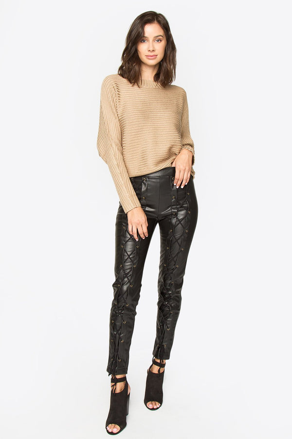 Anson Faux Leather Leggings