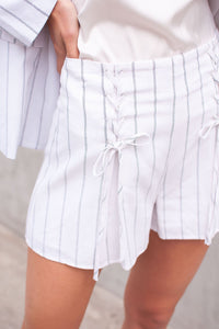 Bahama Lace Up Shorts