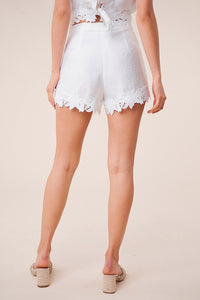 Junebug Lace Trim Shorts