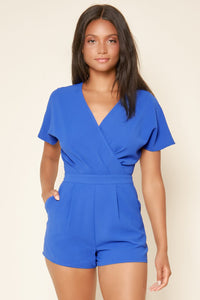 Hot Toddy Surplice Romper