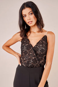 Not So Secret Lace Bodysuit