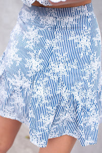 Annette Embroidered Skirt