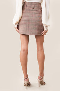 Fae Plaid Mini Skirt