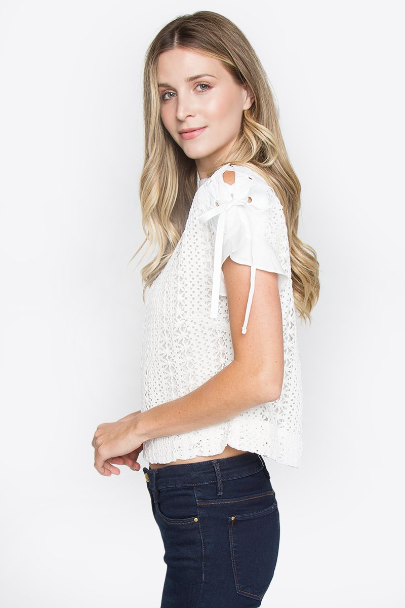 Sydney Crochet Crop Top