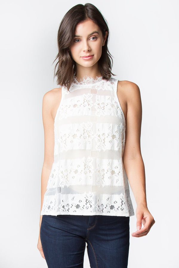 Cordella Lace Top