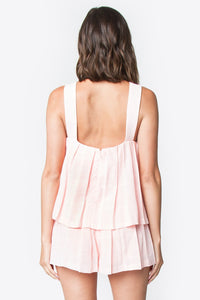 Nia Pleated Tank Top