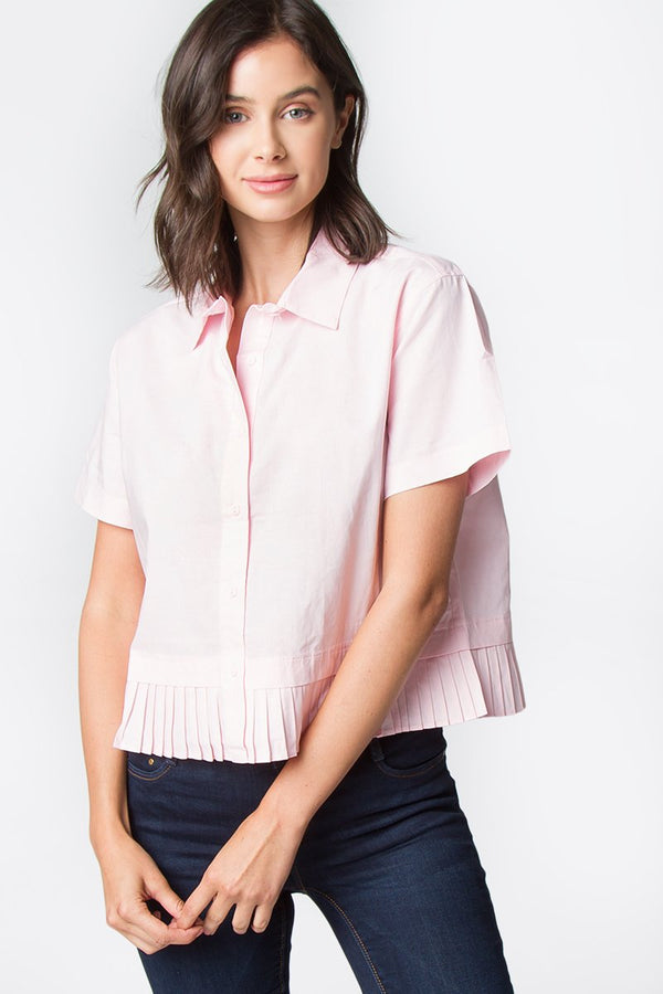 Quinn Pleated Top