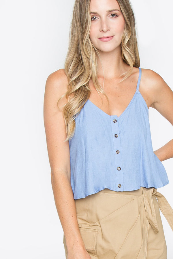 Finley Button Down Top
