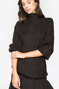 Georgie Mock Neck Sweater