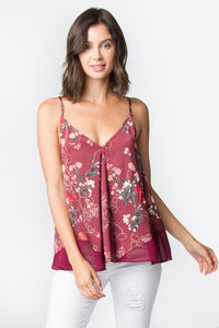 Quincy Printed Cami Top