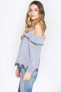 Parker Cold Shoulder Top