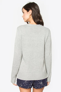 Yarissa Zip Detail Sweater