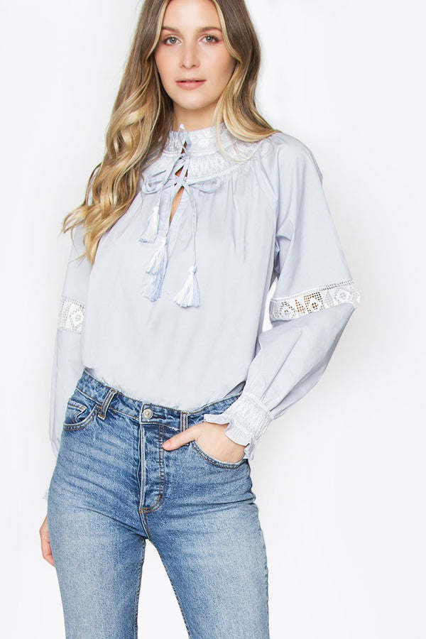 Laviana Embroidered Top