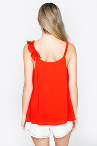 Valley Girl Ruffle Top