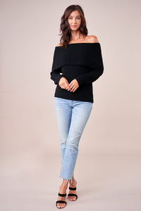 Allegra Off The Shoulder Sweater