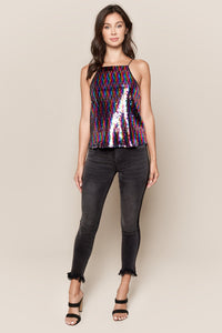 Spotlight Sequin Cami