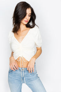 Willa Ruched Crop Top