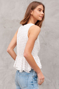 Keel Lace Up Top