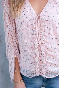 Amalfi Ruched Blouse