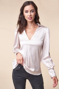 Rush Hour Collared Blouse