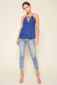 Jazzie Lace Up Cami