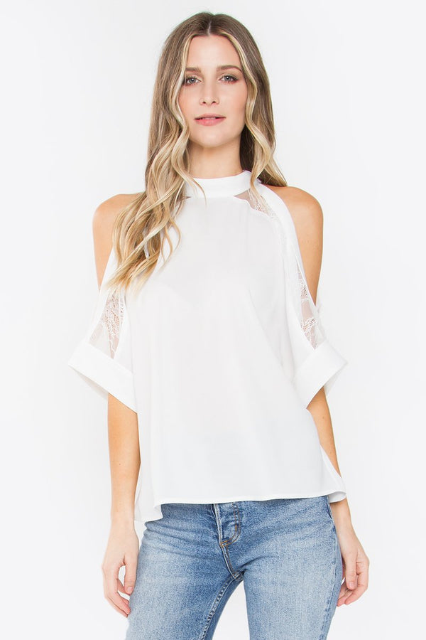 Mirabel Cold Shoulder Top