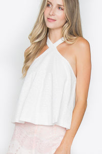 Ryleigh Eyelet Crop Top