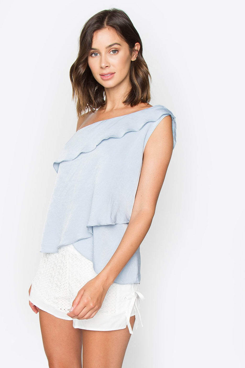 Adelaide One Shoulder Top