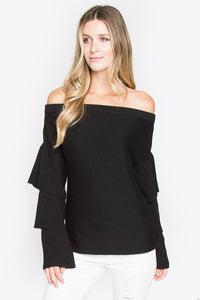 Joselle Off The Shoulder Sweater