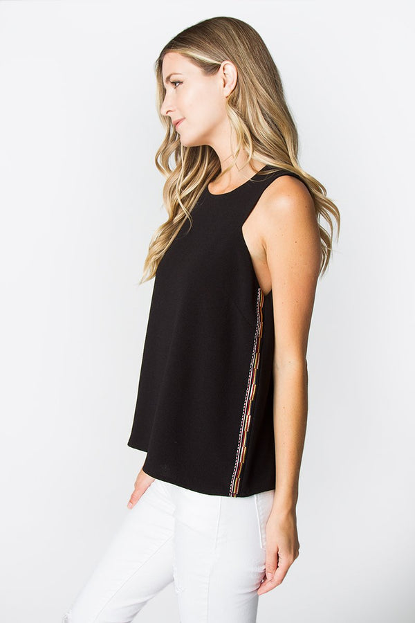 Regina Embellishment Tank Top