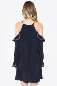 Montana Embroidered Shift Dress