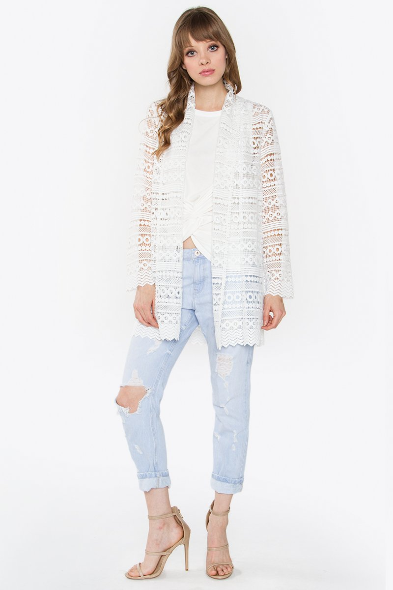 Gallia Crochet Jacket