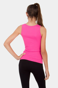 Kid's Ribbed Seamless Tank Top