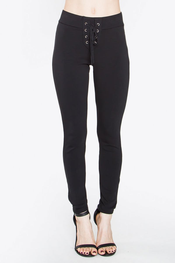 Siena Lace-Up Leggings