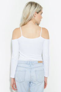 Seamless Cold Shoulder Top