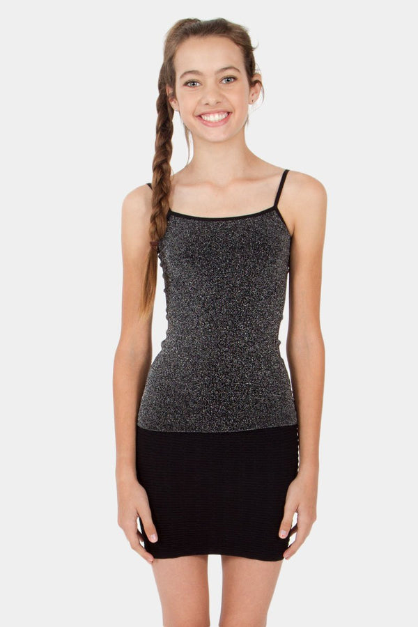 Kid's Sparkle Lurex Camisole