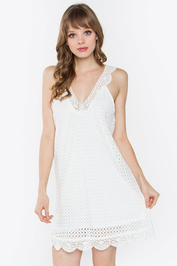 Brette Crochet Dress