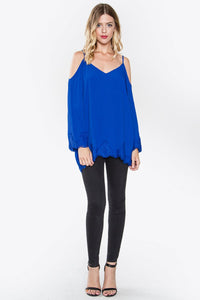 Naomi Cold Shoulder Top
