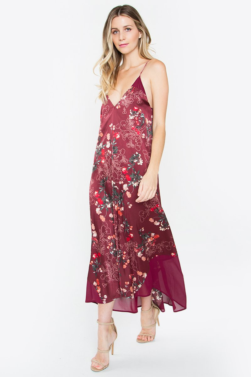 Quincy Printed Maxi Dress