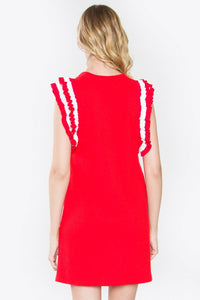 Charmaine Ruffle Knit Dress