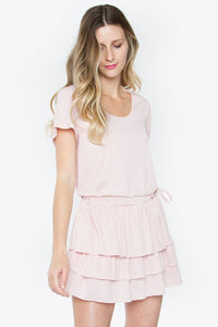 Sela Ruffle Knit Dress