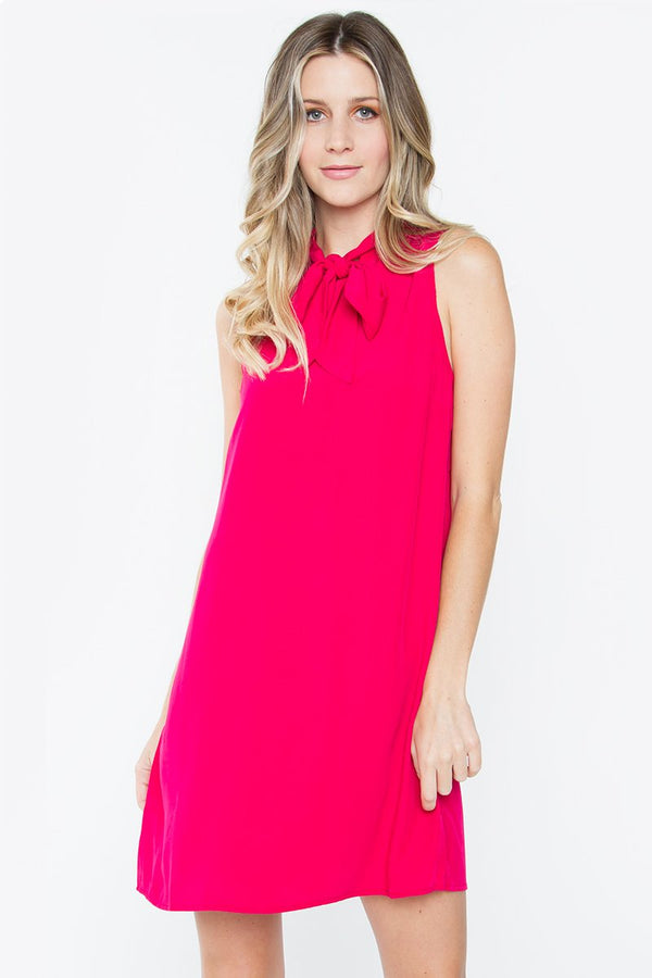 Marcilly Tie Front Dress
