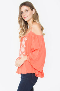 Adeline Cold Shoulder Top