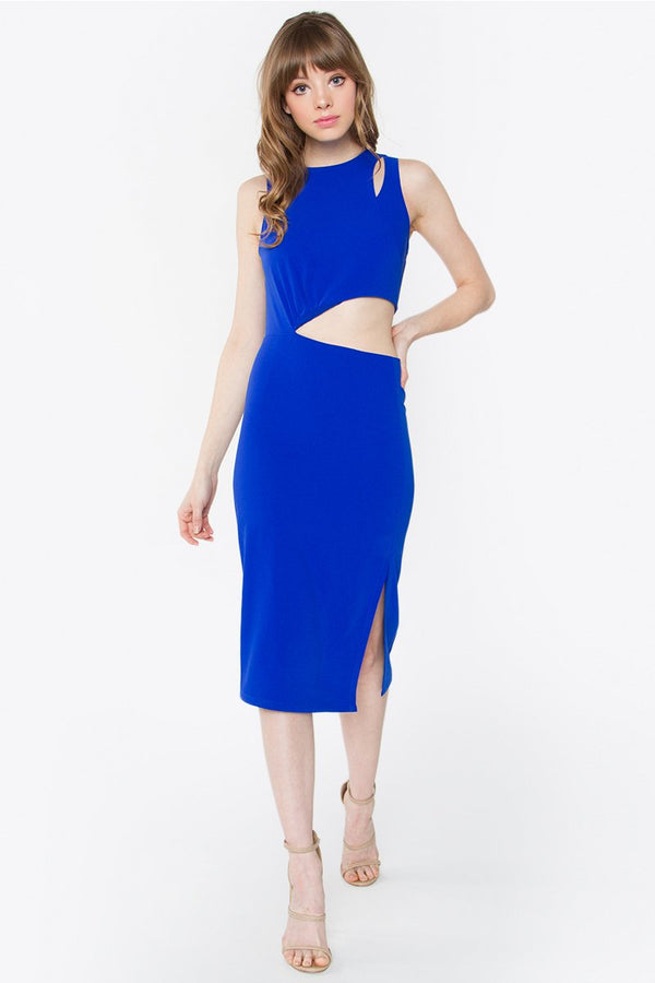 Cassie Cutout Midi Dress