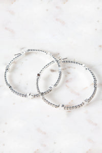 Ines Large Hoop Earrings