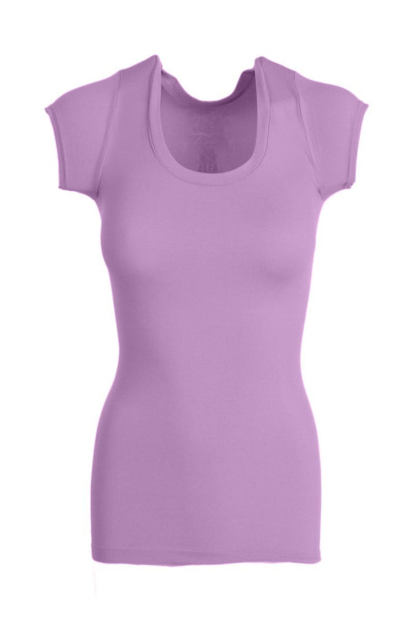Kid's Size Seamless Cap Sleeve Top