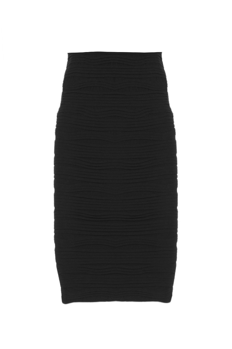 Mid Length Textured Skirt/Dress