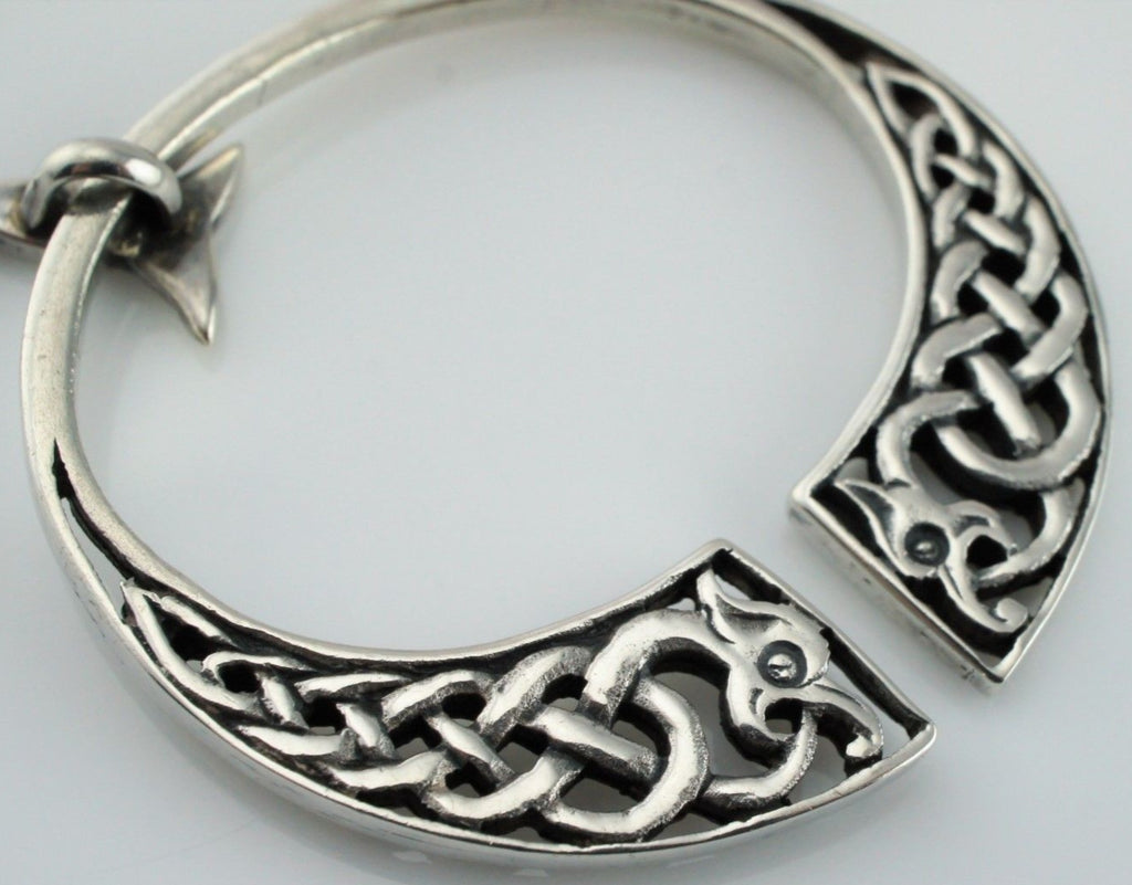 Precious Metal Without Stones 2019 Fashion Vintage Sterling Silver Scottish Iona Celtic Brooch John Hart Jewelry & Watches